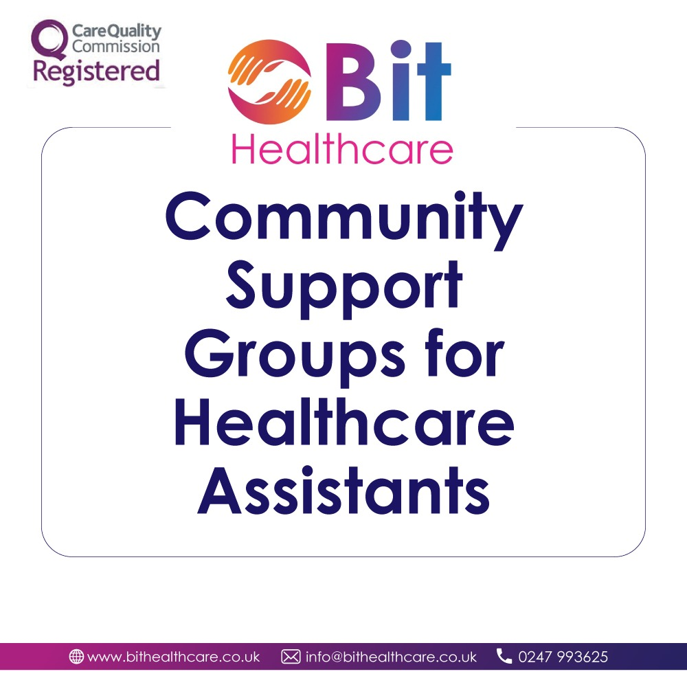 Community Support Groups for Healthcare Assistants